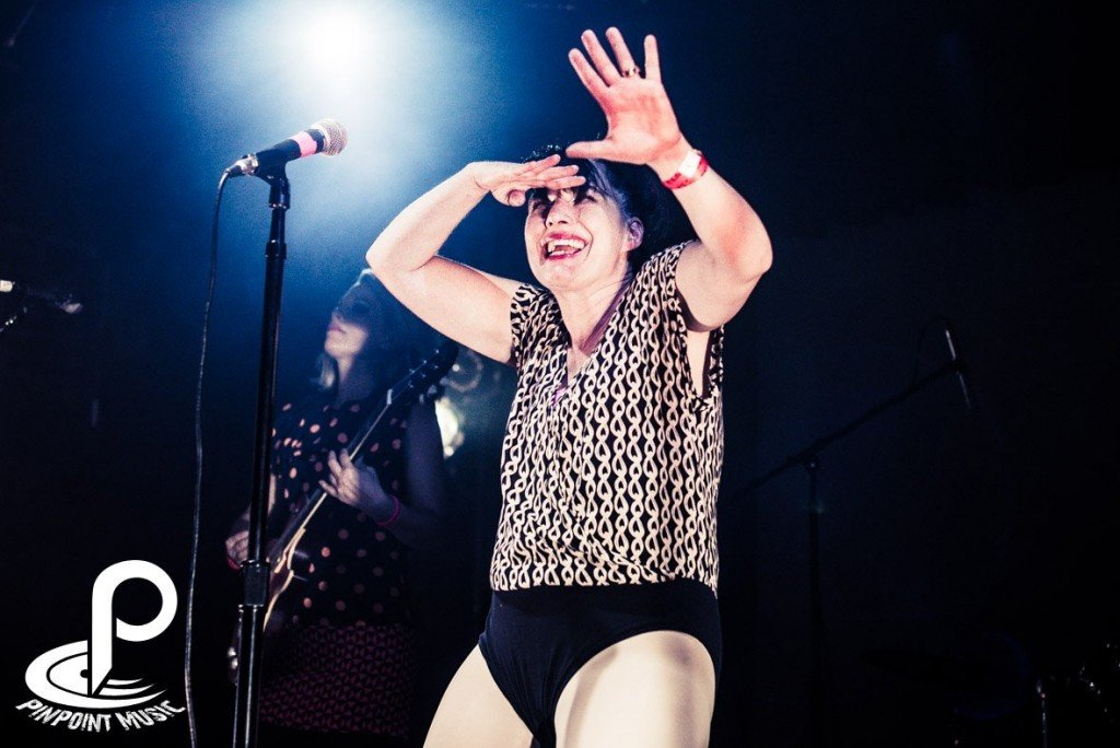 Kathleen Hanna. Imagen: Pinpointmusic